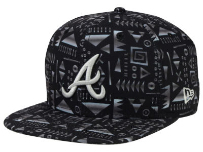 Atlanta Braves New Era MLB Geo 9FIFTY Snapback Cap