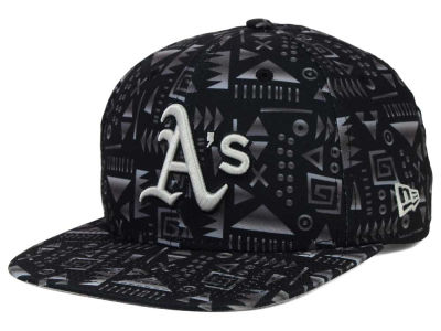 Oakland Athletics New Era MLB Geo 9FIFTY Snapback Cap