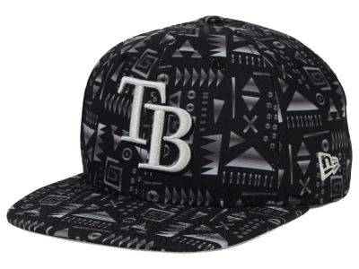 Tampa Bay Rays New Era MLB Geo 9FIFTY Snapback Cap