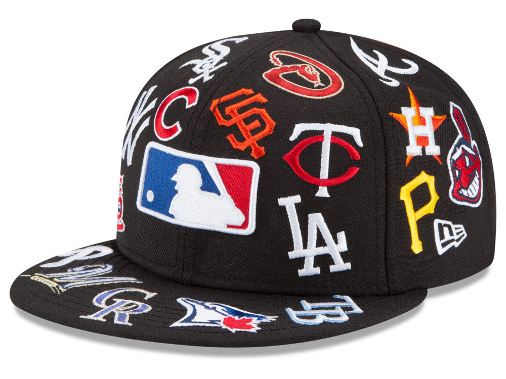 New Era MLB LIDS 20th Anniversary All Over 9FIFTY Snapback Cap ... b095375d71db