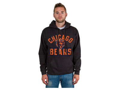 Chicago Bears NFL Men's Wordmark Bar Hoodie