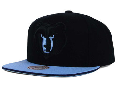 Memphis Grizzlies Mitchell and Ness NBA XL Blackout Snapback Cap