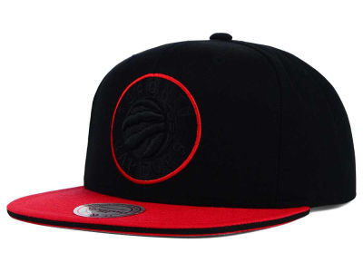 Toronto Raptors Mitchell and Ness NBA XL Blackout Snapback Cap
