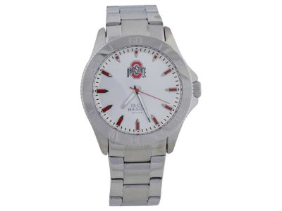 Ohio State Buckeyes Silver Sport Watch