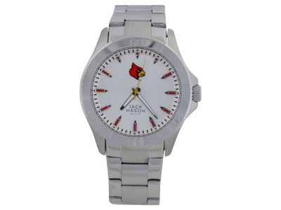 Louisville Cardinals Silver Sport Watch