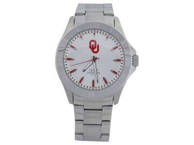 Oklahoma Sooners Silver Sport Watch