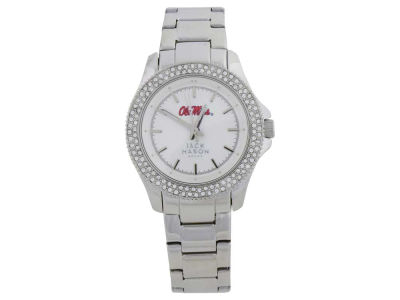 Ole Miss Rebels Glitz Sport Ladies Watch