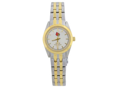 Louisville Cardinals Two Tone Ladies Watch