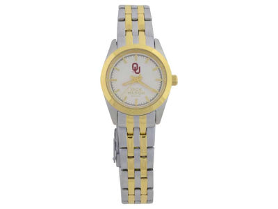 Oklahoma Sooners Jack Mason Two Tone Ladies Watch