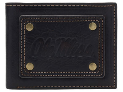 Ole Miss Rebels Gridiron Slim Bifold Wallet