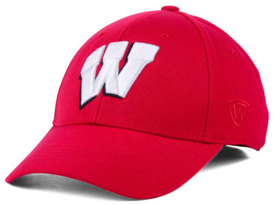 Wisconsin Badgers Top of the World NCAA Memory Fit PC Cap