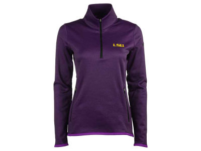 LSU Tigers Nike NCAA Women's Thermal 1/4 Zip Pullover Shirt
