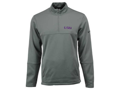 LSU Tigers Nike NCAA Men's Therma-Fit 1/4 Zip Pullover Shirt