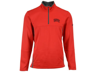 UNLV Runnin Rebels Nike NCAA Men's Therma-Fit 1/4 Zip Pullover Shirt