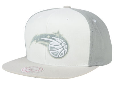 Orlando Magic Mitchell and Ness NBA White Wall Snapback Cap