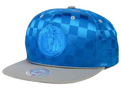 Dallas Mavericks Mitchell and Ness NBA Upfield Snapback Cap