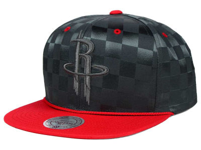 Houston Rockets Mitchell and Ness NBA Upfield Snapback Cap