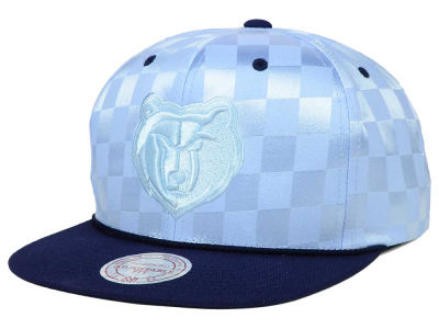 Memphis Grizzlies Mitchell and Ness NBA Upfield Snapback Cap