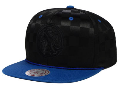 Minnesota Timberwolves Mitchell and Ness NBA Upfield Snapback Cap