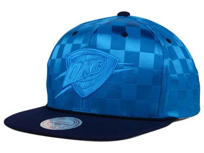 Oklahoma City Thunder Mitchell and Ness NBA Upfield Snapback Cap