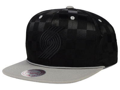 Portland Trail Blazers Mitchell and Ness NBA Upfield Snapback Cap