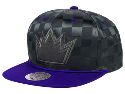 Sacramento Kings Mitchell and Ness NBA Upfield Snapback Cap
