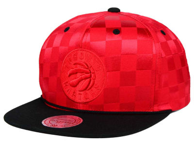 Toronto Raptors Mitchell and Ness NBA Upfield Snapback Cap