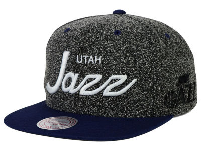 Utah Jazz Mitchell and Ness NBA Static Snapback Cap