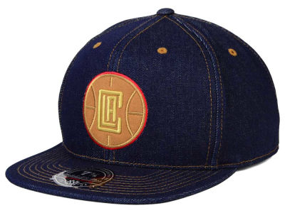 Los Angeles Clippers Mitchell and Ness NBA The Denim Fitted Cap