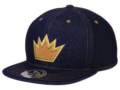 Sacramento Kings Mitchell and Ness NBA The Denim Fitted Cap