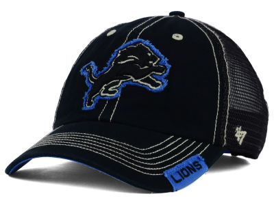 Detroit Lions '47 NFL Turner Mesh '47 CLEAN UP Cap