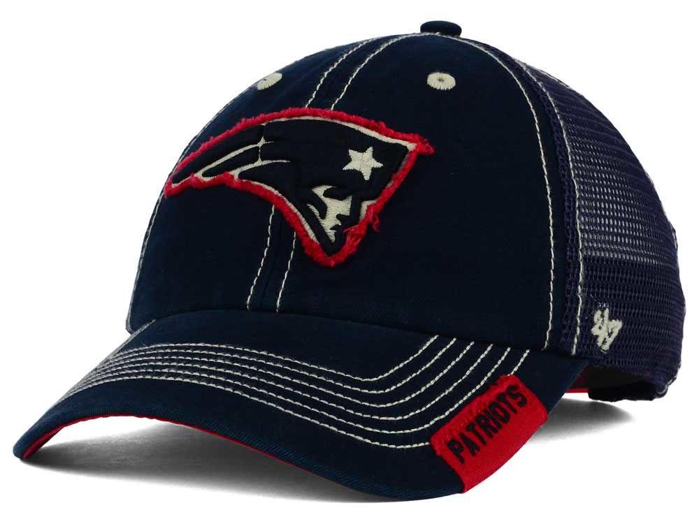 a670e18e0 ... Adjustable  latest design f9e6f 0fb02 New England Patriots 47 NFL  Turner Mesh 47 CLEAN UP Cap ...