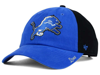Detroit Lions '47 NFL Womens '47 Sparkle 2 Tone Adjustable Cap