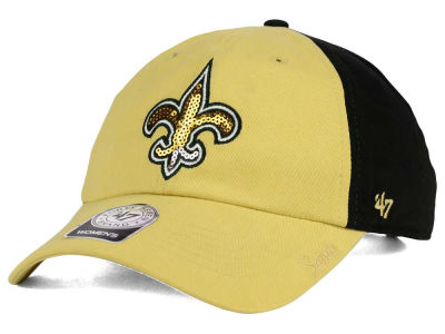 New Orleans Saints '47 NFL Womens '47 Sparkle 2 Tone Adjustable Cap