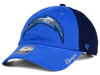 San Diego Chargers '47 NFL Womens '47 Sparkle 2 Tone Adjustable Cap
