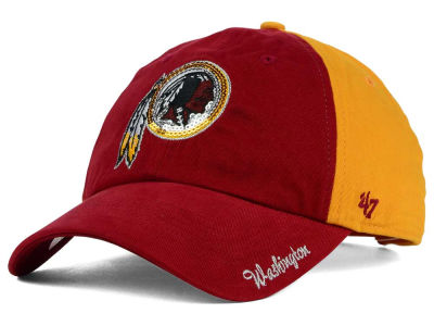 Washington Redskins '47 NFL Womens '47 Sparkle 2 Tone Adjustable Cap