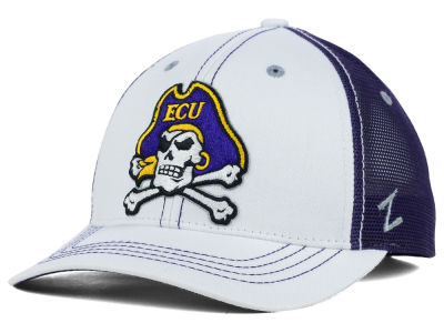 East Carolina Pirates Zephyr NCAA Whiteboard Hat