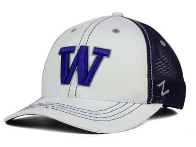 Washington Huskies Zephyr NCAA Whiteboard Hat