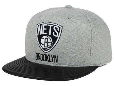 Brooklyn Nets Mitchell and Ness NBA Neoprene Viz Snapback Cap