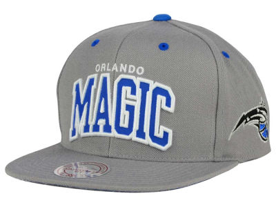 Orlando Magic Mitchell and Ness NBA Reflective Arch Snapback Cap