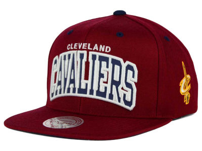 Cleveland Cavaliers Mitchell and Ness NBA Reflective Arch Snapback Cap