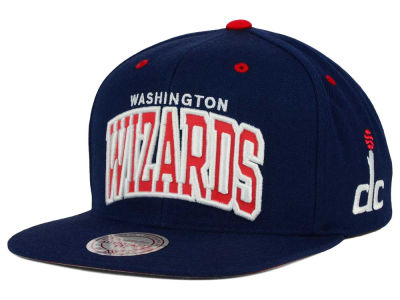 Washington Wizards Mitchell and Ness NBA Reflective Arch Snapback Cap
