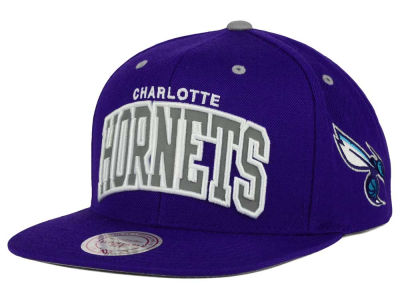 Charlotte Hornets Mitchell and Ness NBA Reflective Arch Snapback Cap