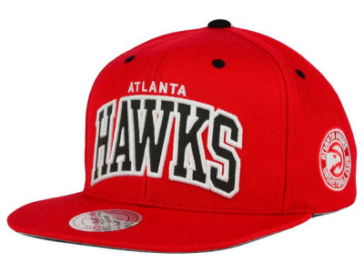 Atlanta Hawks Mitchell and Ness NBA Reflective Arch Snapback Cap