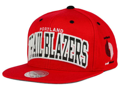 Portland Trail Blazers Mitchell and Ness NBA Reflective Arch Snapback Cap