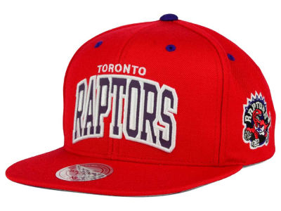 Toronto Raptors Mitchell and Ness NBA Reflective Arch Snapback Cap