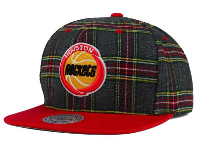 Houston Rockets Mitchell and Ness NBA Plaid It Snapback Cap