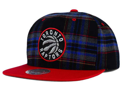 Toronto Raptors Mitchell and Ness NBA Plaid It Snapback Cap