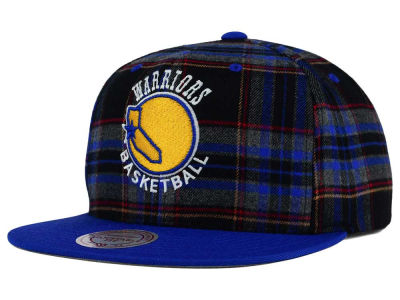 Golden State Warriors Mitchell and Ness NBA Plaid It Snapback Cap