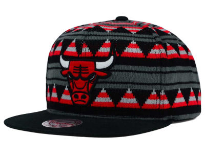 Chicago Bulls Mitchell and Ness NBA Mixtec Snapback Cap